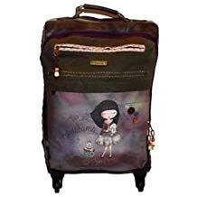 Brown 26 cm Anekke Double Moon Shoulder Bag Travel Tote Sany Bags S.L
