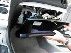 Cabin air filter replacement- Infiniti G37