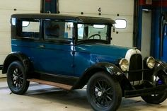 1920's Willys Whippet car