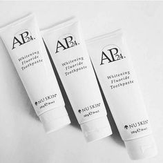 AP 24 Anti-Plaque Fluoride Toothpaste uses a safe, gentle form of fluoride to remove plaque and protect against tooth decay. Nu Skin, Ap 24 Whitening Toothpaste, Blush Beauty, Stained Teeth, Oral Hygiene, Skin Tips, Nail Trends, Beauty Photography, Skin Care