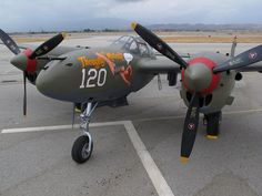 "All sizes | P-38 Lightning ""Thoughts of Midnite"" 