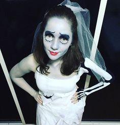 Pin for Later: 60 DIY Halloween Costume Ideas Tailored to Teens Corpse Bride