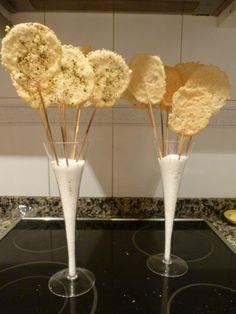 Piruletas de parmesano - Recetízate
