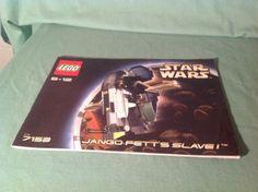 Lego-Star-Wars-Episode-II-Jango-Fetts-Slave-I-7153-Instructions-Only