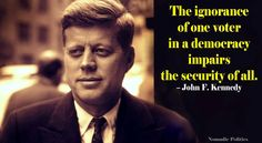 JFK and the Ignorance of Voters   Nomadic Politics