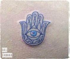 קעקוע חמסה Hamsa Tattoo – סוואי טאטו Sway