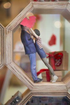 Un amour renversant !  #Moïmee3D #Figurine3D #Design #Imprimante3D #Technologie #Amour #140215 #14février
