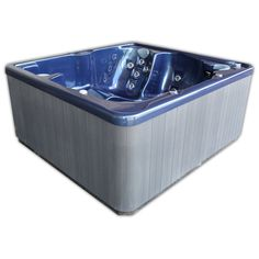 Home and Garden Spas 6 Person 40 Jet Spa with Auxilary Hookup Tubs For Sale, Spas, Outdoor Furniture, Outdoor Decor, Jet, Home And Garden, Storage, Home Decor, Purse Storage