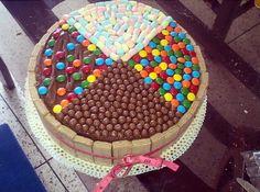 Torta super variada Sundae Bar, Cake Party, Cakepops, Sprinkles, Good Food, Birthday Cake, Kitty, Candy, Ethnic Recipes