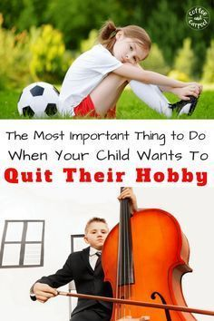 Is your kid asking to quit their hobby and you don't know what to do? Coffee and Carpool has a great FREE printable with dinner discussion starters so you can ask the right questions to determine if quitting is the right choice for your child.