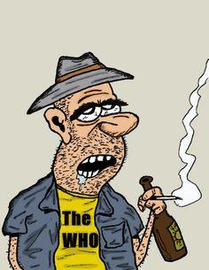 Old-fashioned rocker