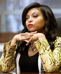 Taraji P. Henson - Empire - Taraji P. Henson mean business in a bold blazer. Chuck Hodes/FOX