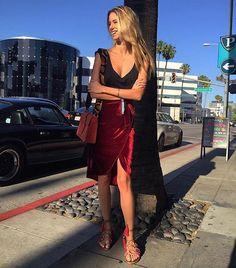 @bruna_lucchesi starting with style ❤️ #schutztrip #314beverlydrive