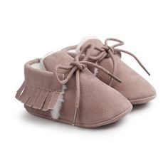 Moccasins - Baby Mocs - Fur Lined