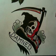 paulnycztattooer:    Damned reaper. By Paul Nycz