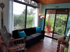 Forest Habitat, Sofa, Couch, Tropical Garden, Costa Rica, Cottage, Bedroom, Luxury, Furniture