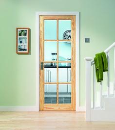 Glazed Door genoa oak glazed | internal harwood doors | doors & joinery