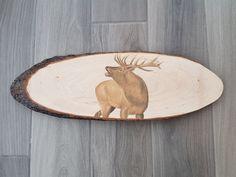 "Call"" Deer slab portrait in pastel pencils on wooden board . ""The Call"" Deer slab portrait in pastel pencils on wooden board .,""The Call"" Deer slab portrait in pastel pencils on wooden board . Crayons Pastel, Pastel Pencils, Portrait, Moose Art, Decorative Plates, Creations, Brame, Deer, Woodwind Instrument"