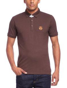 Selected Homme Herren Polo Shirt Polo Shirt - Schwarz - Java - Small  (Herstellergröße: