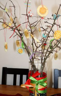 Wicca Litha Tree: Love the ornaments....I need some ornaments for my tree..only have eggs for Ostara!