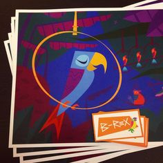 Tiki Art, New Print, Birds, Artist, Instagram Posts, Prints, Bird, Printed, Art Print