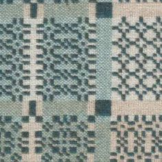 knot garden teal back - choose by design - melin tregwynt - woven in wales