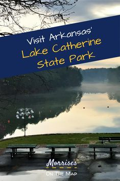 Lake Catherine State Park in Hot Springs Arkansas is a beautiful park that offe Arkansas Camping, Arkansas Vacations, Camping In Illinois, Hot Springs Arkansas, State Parks, Half Moon Bay Camping, Camping Places, Rv Camping, Us Road Trip
