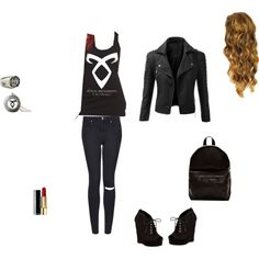 The Mortal Instruments inspired outfit TMI