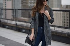 blazer cardigan | Out & About