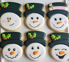 How to Decorate a Snowman Face Cookie – The Flour Box Sugar Cookie Royal Icing, Best Sugar Cookies, Christmas Sugar Cookies, Holiday Cookies, Christmas Baking, Holiday Desserts, Christmas Treats, Christmas Nails, Christmas Recipes
