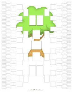 8 Generation Family Trees in . Family Tree For Kids, Family Tree Chart, Family Trees, Family Tree Research, Tree Graphic, My Family History, Colorful Trees, Family Genealogy