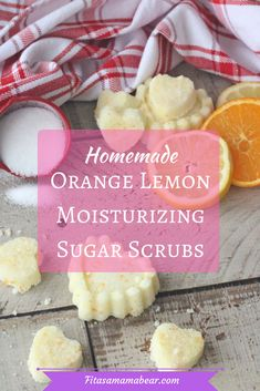 Lemon sugar scrubs, diy sugar scrub, homemade body scrub, pamper, self care, homemade gift, handmade gift, all natural, natural living,