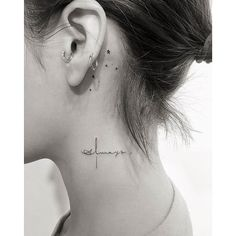neck tattoos women side & neck tattoos women _ neck tattoos women side _ neck tattoos women back of _ neck tattoos women small _ neck tattoos women throat _ neck tattoos women side words _ neck tattoos women classy _ neck tattoos women words Mini Tattoos, Armbeugen Tattoos, Cute Tattoos, Body Art Tattoos, Awesome Tattoos, Tatoos, Script Tattoos, Heart Tattoos, Skull Tattoos