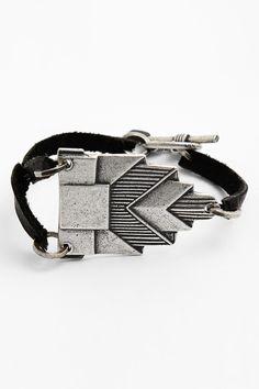 Bonnie Jonas | Bonnie Jonas Geometric Leather Bracelet | Nordstrom Rack