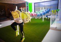 NIKE Retail Interior | Revolution Jacket at Niketown, London, 2015 by Millington Associates