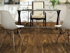 """Warm up your floor with Luxury Vinyl tile in style """"Northampton"""" color Cascade Acacia by Shaw Floors"""