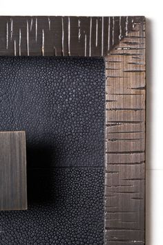 Shagreen and metal details