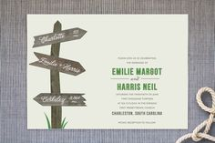Wedding This Way by Carrie Eckert at minted.com
