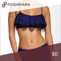 MOVING SALE ✨Popover Lace Trim Bralette 🚨MOVING SALE= SAVINGS THROUGH SELLER DISCOUNT ONLY. NO TRADES. 🚨.....Very pretty. Lace trim. Bandeau neck. Adjustable straps. Non-padded cups. Jersey Knit overlay. Bralette-92% viscose. 8% spandex. Lace trim- 92% polyamide. 8% spandex. Joe's Jeans Intimates & Sleepwear Bandeaus