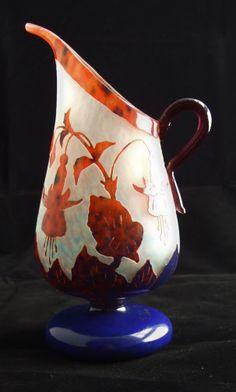 Art Deco Glass work of Charles Schneider