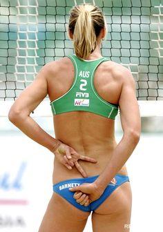 beach volleyball athlete