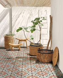 Basket with plant: Liane cart, available in two models: Decor, Nature Decor, Natural Interior, Home Furniture, Zen Interiors, Home Decor, Apartment Decor, Home Deco, Deco