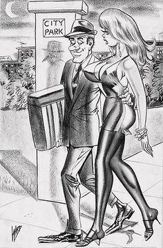 Bill ward adult cartoon