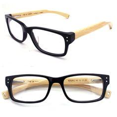 handmade  bamboo & acetate  bamboo  glasses frame eyewear.