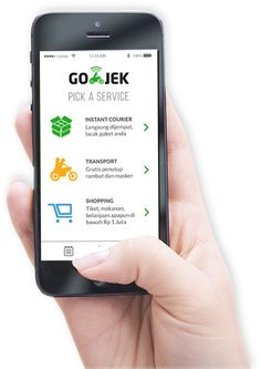 """I'm spreading the GO-JEK love. Download the GO-JEK app at """"http://go-jek.com/app"""" and input this referral code """"527876532"""" to get Rp 50,000 free credit to your first booking. #gojekgotmehere"""