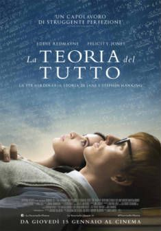 La teoria del tutto, dal 15 gennaio al cinema.