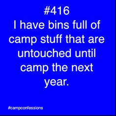 I can't even go back to camp and my camp truck is still 95% full of camp stuff that is always stored in it. #beprepared