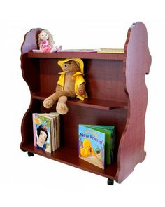 Lion bookshelf