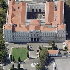 National Palace Ajuda Lisbon, Portugal