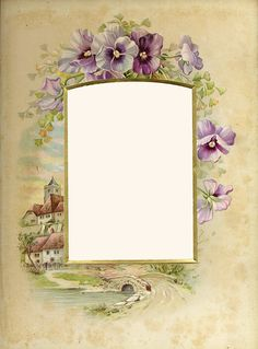 Vintage Photo Album Frame
